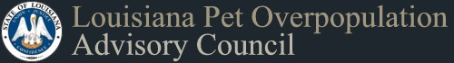 Louisiana Pet Overpopulation Advisory Council